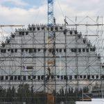 Скеле Мобилно Алуминиумско наменето за озвучување и осветлување на Специјалните Олимписки игри во Атина.