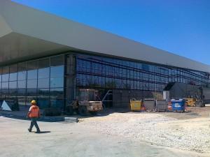 Aerodrom Aleksandar Veliki skele