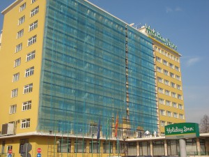 Holiday inn-Skopje fasadno skele
