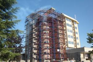 Hotel Feni Kavadarci fasadno skele