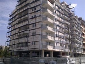 Hotel vo Karpos montazno skele