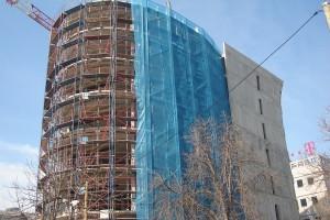 Komercijalna Banka Skopje fasadno skele 3