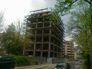 Stanben Objekt vo Skopje montazno skele