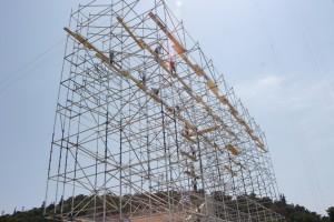 Mobilno aluminiumsko skele Specijalni olimpiski igri-Atina 2