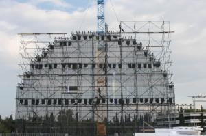Mobilno aluminiumsko skele Specijalni olimpiski igri-Atina 4