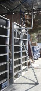 Aluminiumski oplati vo upotreba